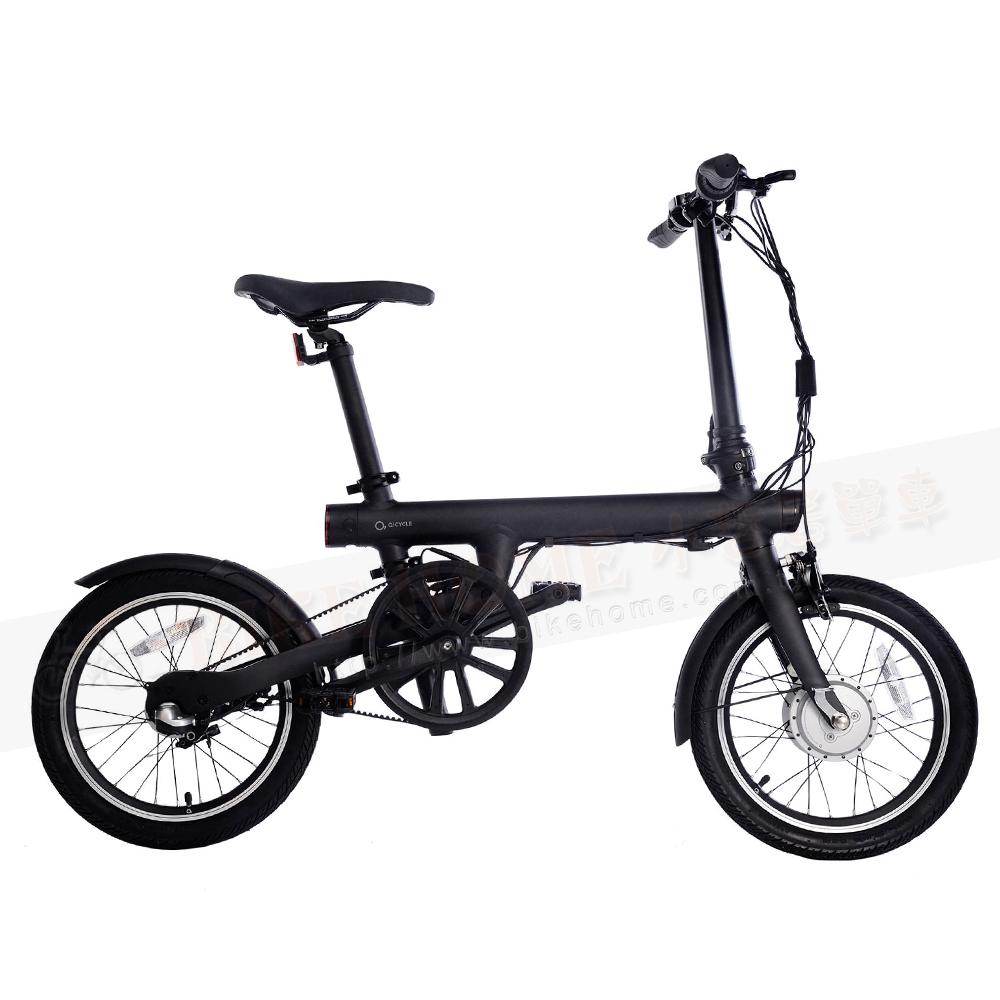 qicycle 升級 版 電 助力 折疊 自行車