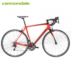 Cannondale Synapse Carbon 105-22速700C彎把全碳纖公路車-消光紅RED