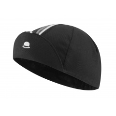 chapeau_cotton_cap_striped_grosgain_black_c1227_front